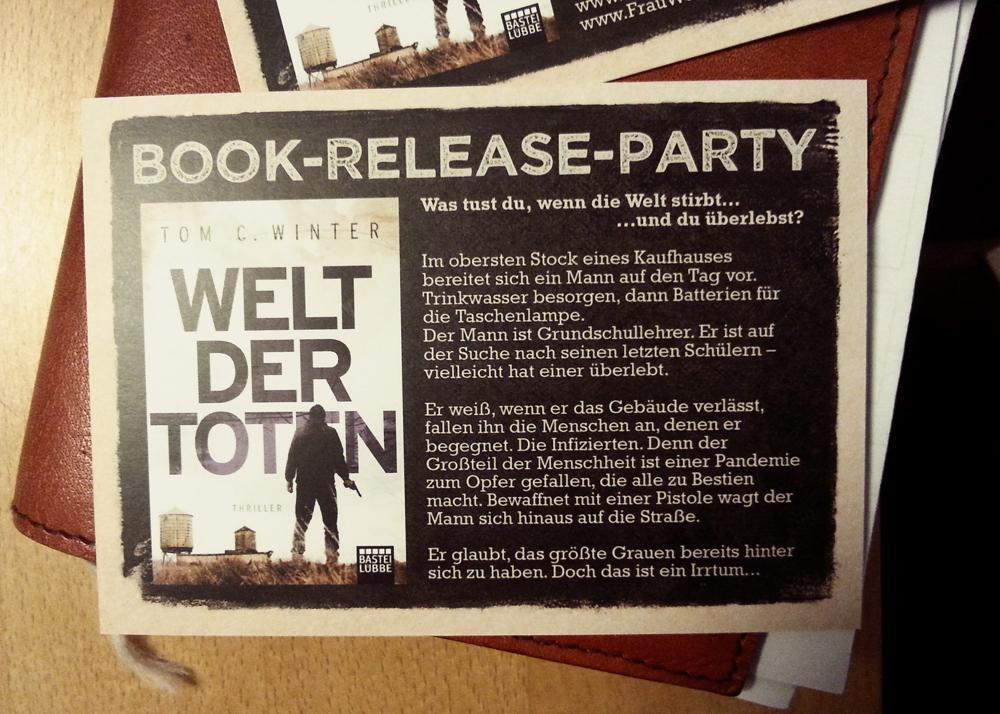 Book Release Flyer Foto 2